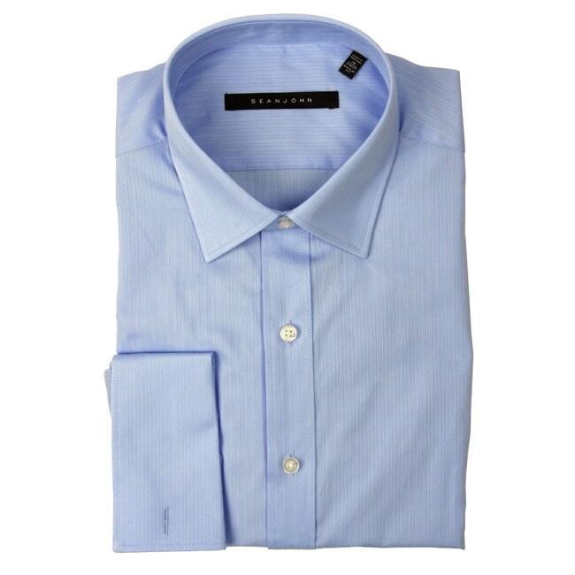 Sean John Men's French Cuff Dress Shirt