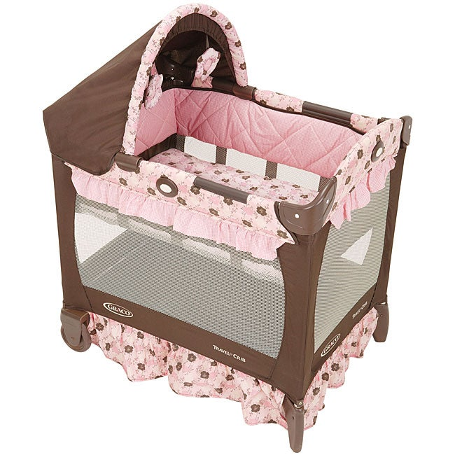 Graco Travel Lite Portable Crib In Betsey Free Shipping