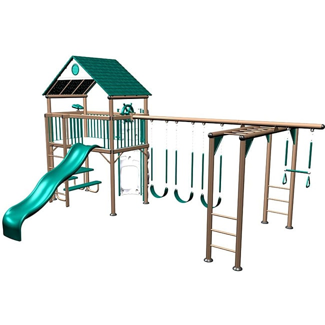 Lifetime Earthtone Deluxe Playset