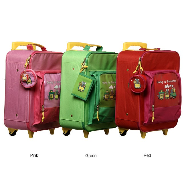 Children's 'Going to Grandma's' Wheeled Upright Luggage - Thumbnail 0