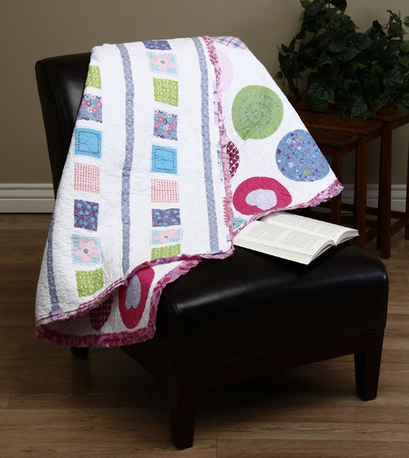 Snapdragon Decorative Quilted Throw