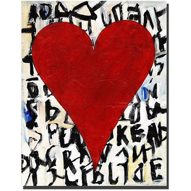 Michael Zayn 'Heart of Love, Thalia' Gallery-wrapped Canvas Art