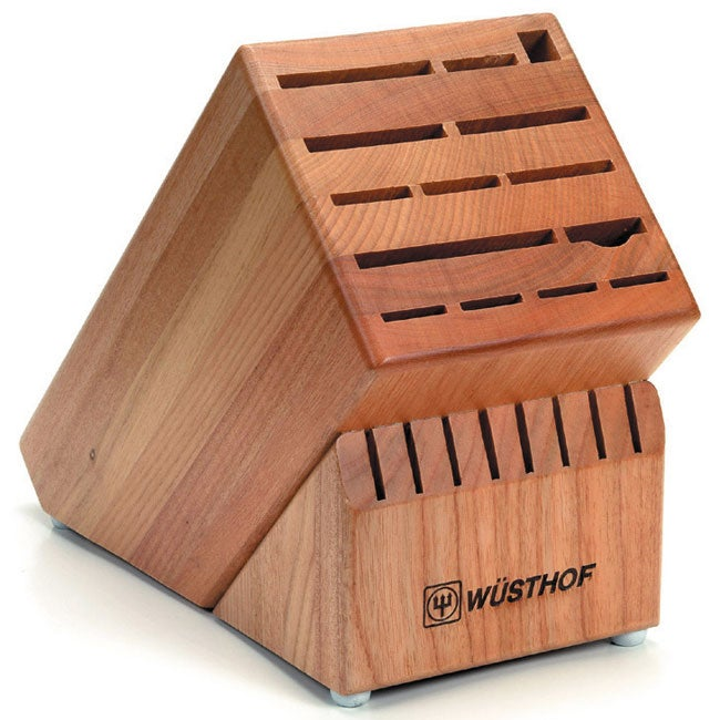 Wusthof 22-slot Beechwood Knife Block