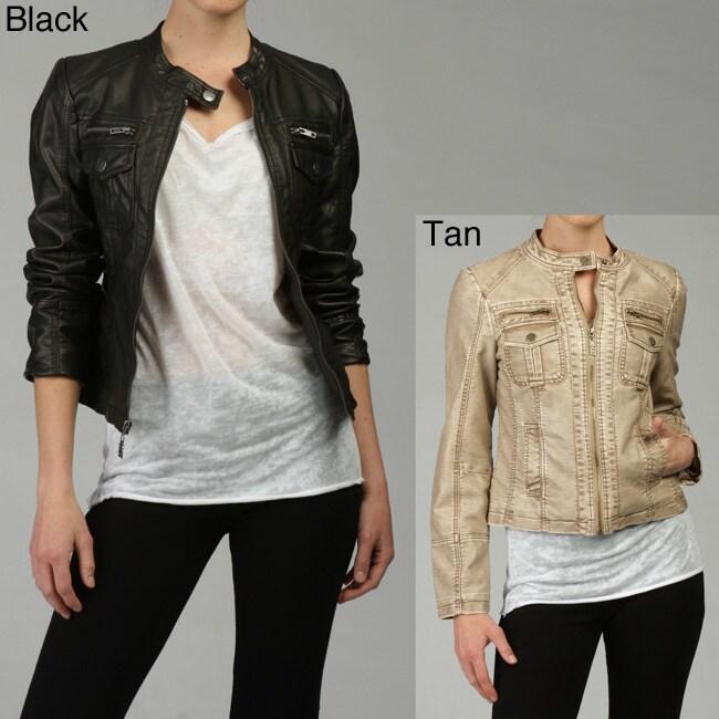 Miss sixty faux leather jacket