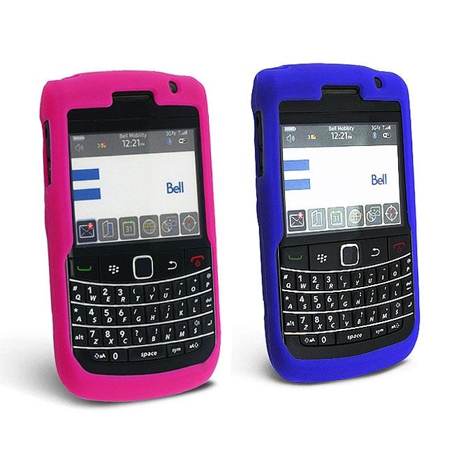 Eforcity Silicone Skin Case for Blackberry Bold 9700