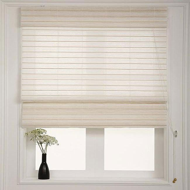 Chicology Serenity Rice Roman Shade 31 In X 72