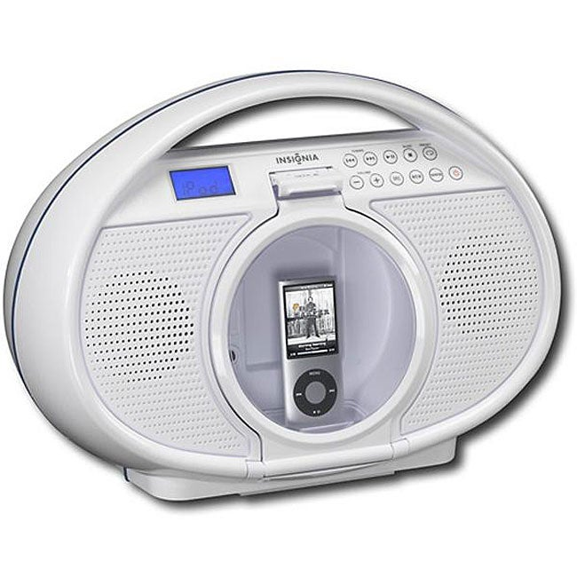 Insignia NS-B4113 Water-resistant Boombox with iPod Dock (Refurbished)