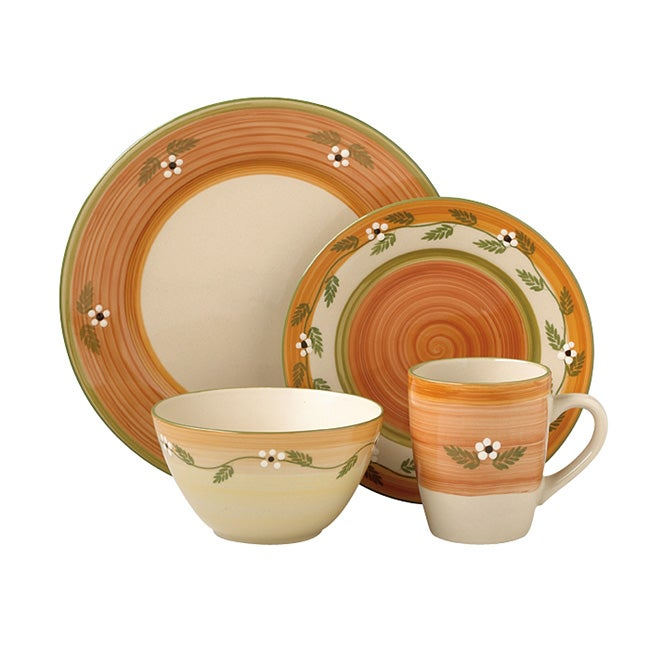Pfaltzgraff Everyday 'Siena White' 16-piece Dinnerware Set