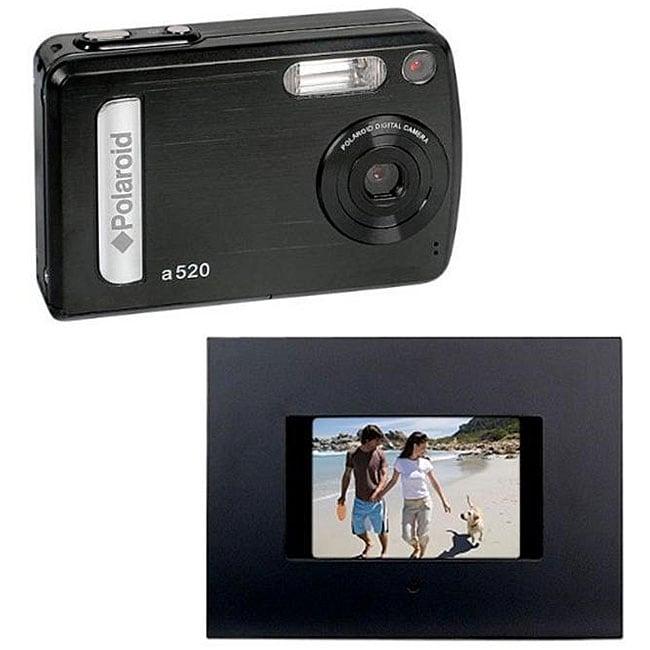 Polaroid 7 Digital Photo Frame With Weather Station Ebay