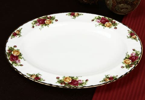 Royal Albert Old Country Rose 13-inch Platter