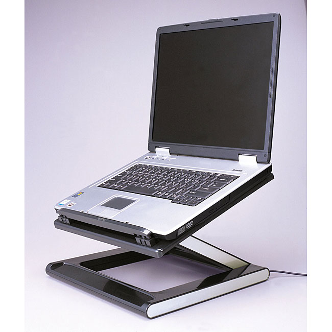 Z Lift Laptop Computer Desk Stand Free Shipping Today
