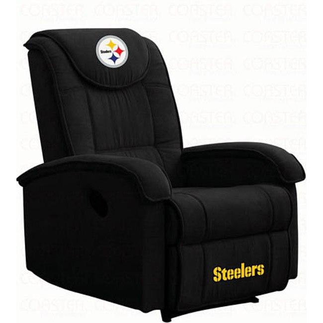 Bon Pittsburgh Steelers Microfiber Recliner