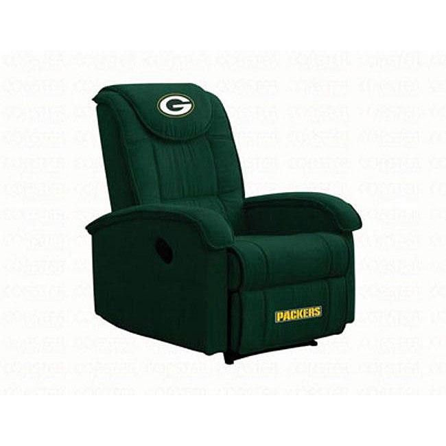 Nice Green Bay Packers Microfiber Recliner