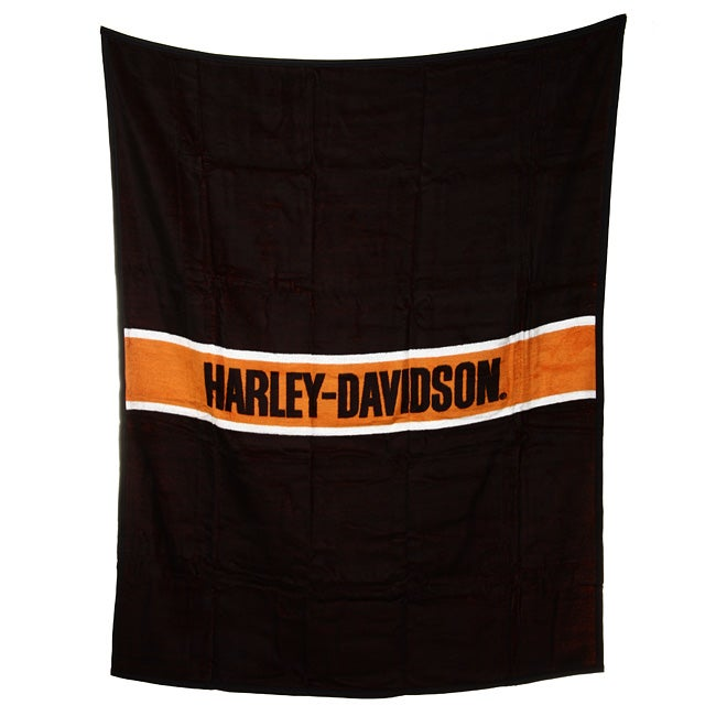 Harley Davidson Stripe Throw
