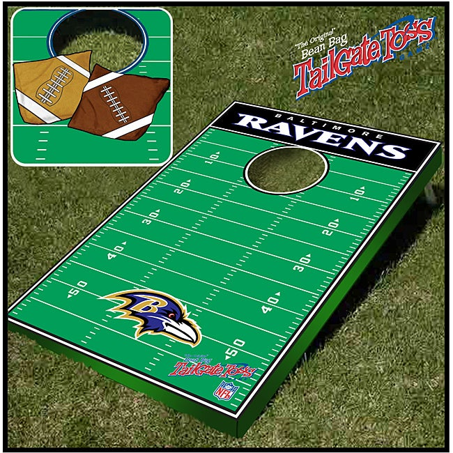 Officially Licensed NFL Baltimore Ravens Tailgate Toss Game