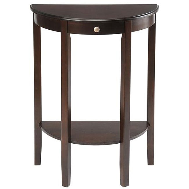 Merveilleux Shop Bay Shore Collection Half Moon/ Round Hall Table   Free Shipping Today    Overstock   4611729