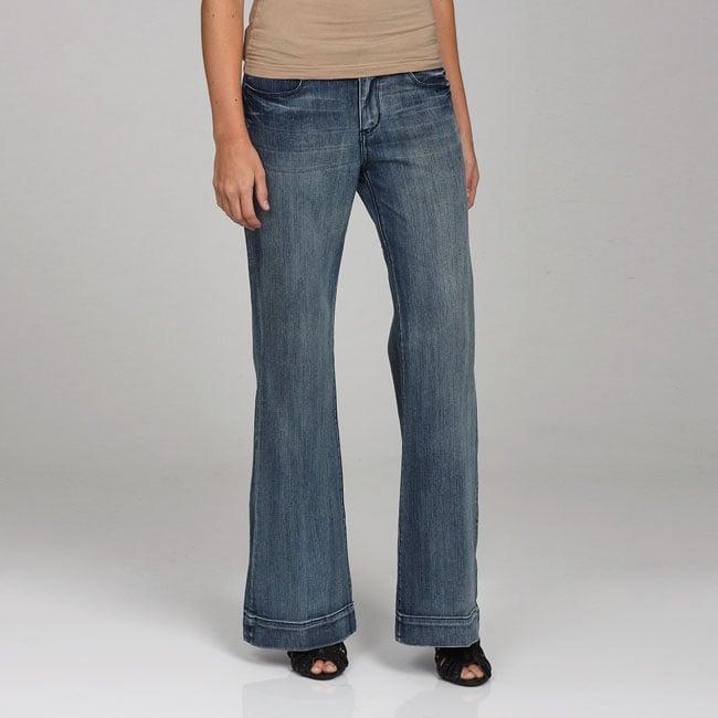 Seven 7 Women's Wide Leg Trouser Jeans