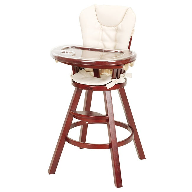 Graco Classic Wood High Chair In Cherry Free Shipping