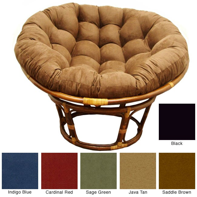 Rattan Papasan Chair - Free Shipping Today - Overstock.com - 12541859