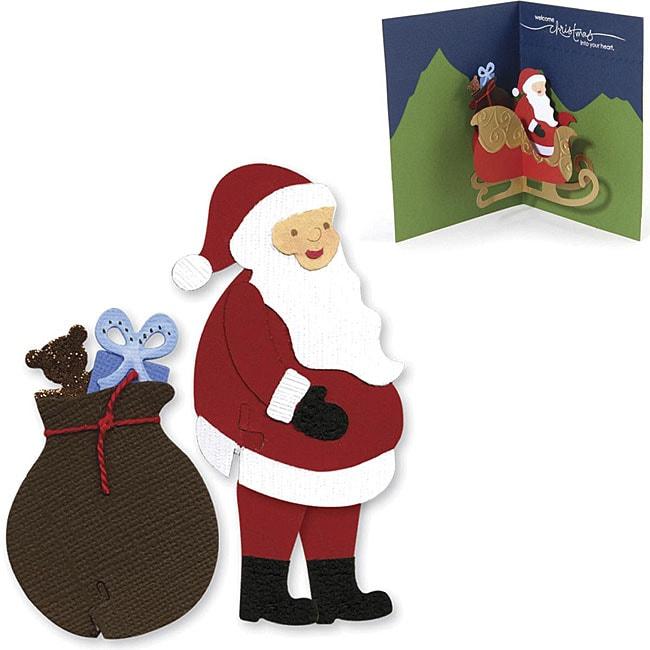 Sizzix Sizzlits Santa Die Set (Pack of 3)