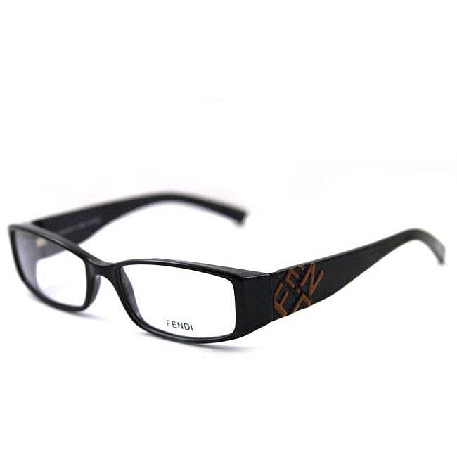 4e86c48ec01 Shop Fendi Women s FS 729 Women s Black Eyeglasses - Free Shipping Today -  Overstock - 4615894