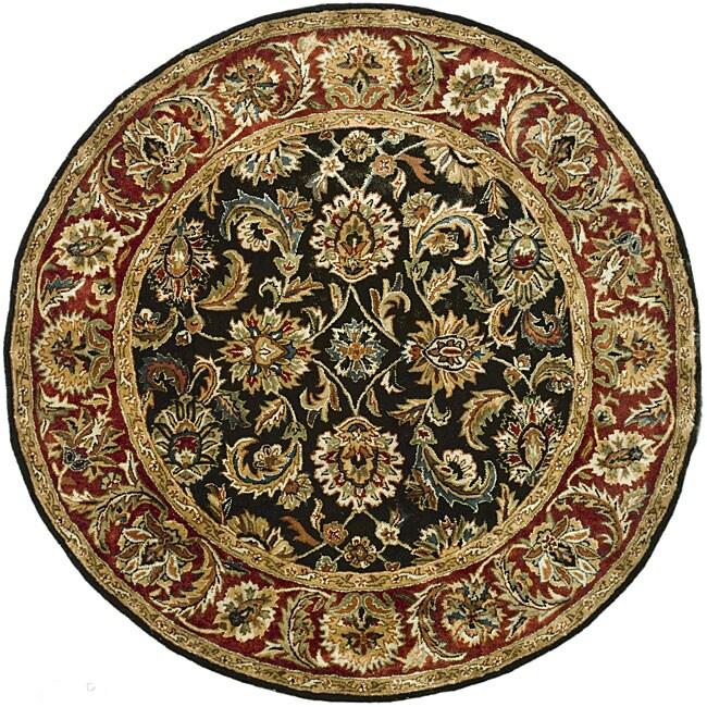 Safavieh Handmade Classic Dark Olive Red Wool Rug 6