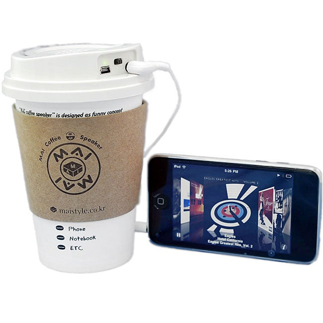 Mai Coffee Cup Portable Speaker System