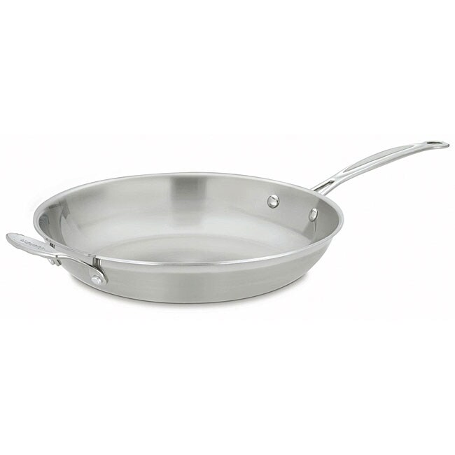 Cuisinart MCP22-30H Multiclad Pro Stainless 12-inch Skillet