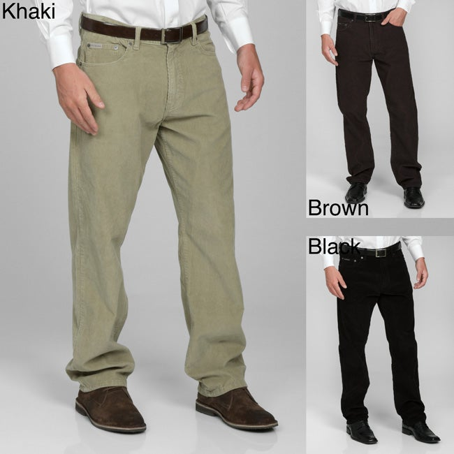 12fd4b08 Shop Calvin Klein Jeans Men's Corduroy Pants - Free Shipping On Orders Over  $45 - Overstock - 4660795