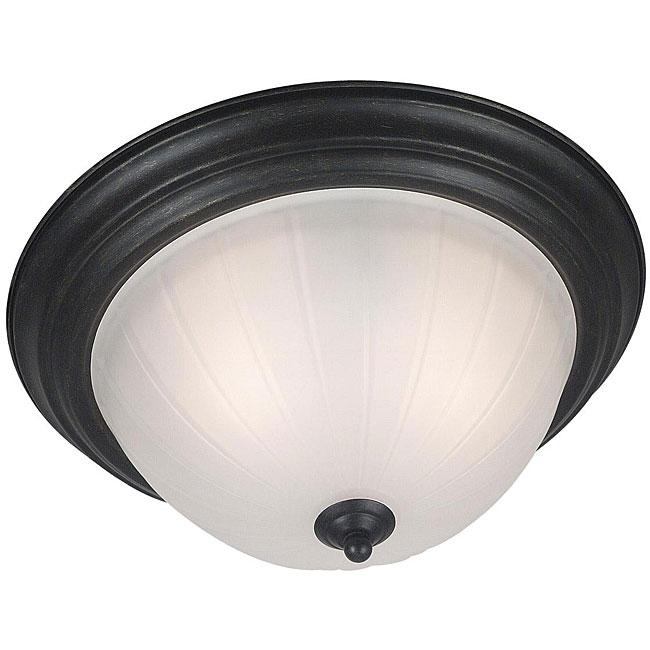 Lacuna 2-light Flush Mount Ceiling Light
