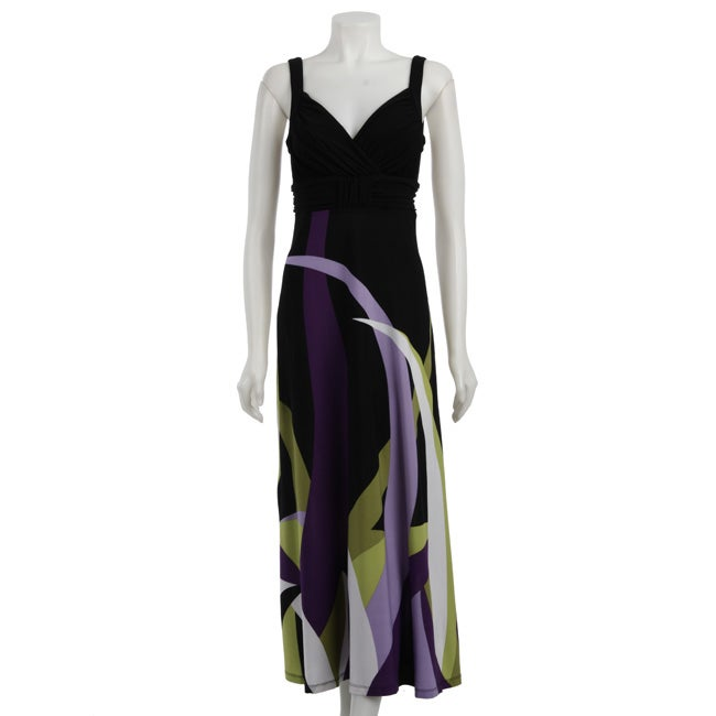 46d99957446 Shop Soho Apparel Women s Printed Maxi Dress - Free Shipping Today -  Overstock - 4662766