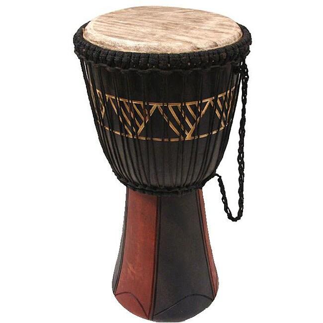 Handcrafted Big Bang Djembe Drum (Ghana)