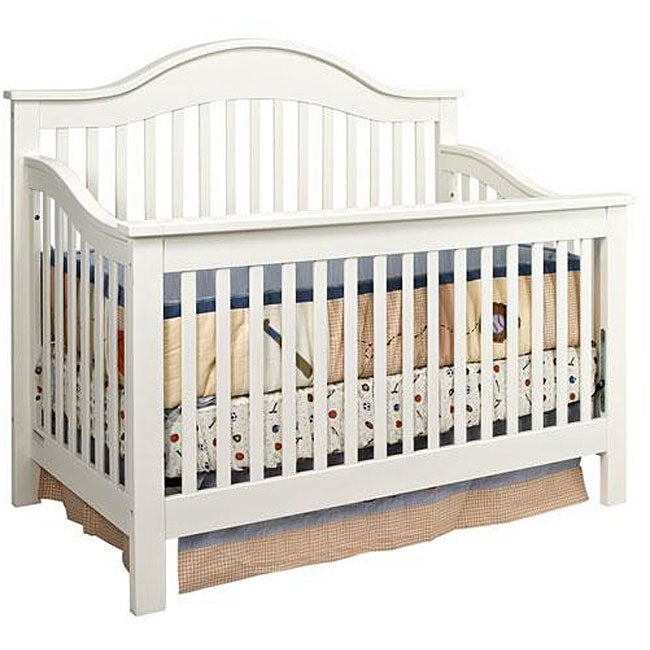 davinci 4 in 1 crib in antique white overstock 87956