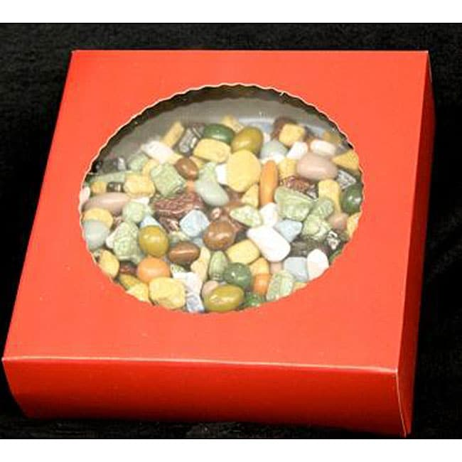 Bidwell Candies 1-pound Chocolate Rocks Gift Box Box