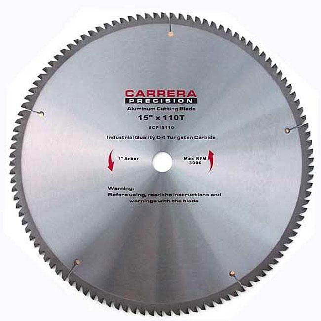 Carrera Precision 15-inch 110 T Carbide Tipped Circular Saw Blade