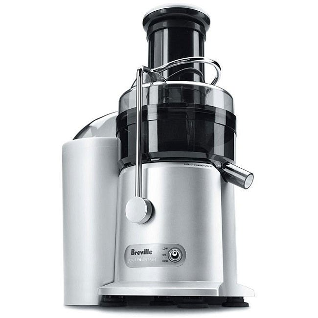 Breville je95xl two speed juice fountain plus refurbished free