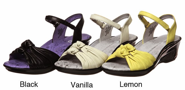 Jambu Women's 'Gillie' Wedge Sandals