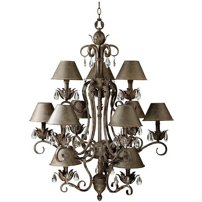 Foyer Lighting Overstock : Kenroy prelude light foyer chandelier free shipping