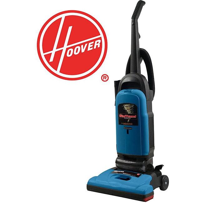 Shop Hoover U5140 Windtunnel Blue Upright Vacuum With