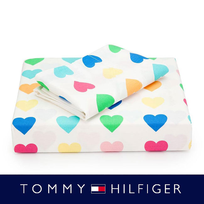 Tommy Hilfiger Sweethearts 3-piece Twin and TXL Sheet Set