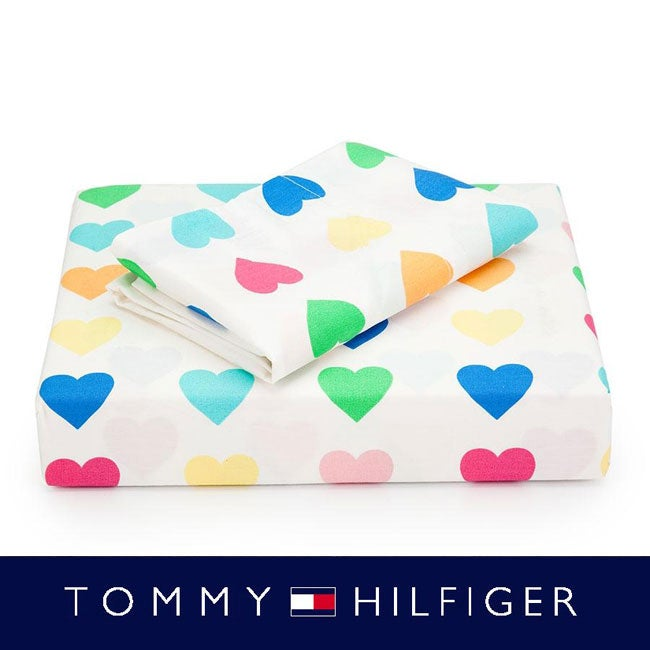 Tommy Hilfiger Sweethearts Full Size  4-piece Sheet Set