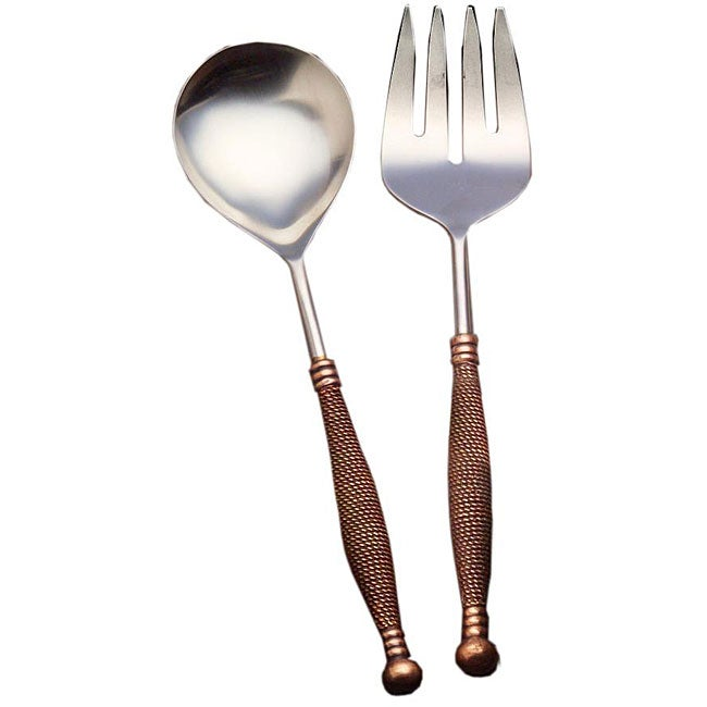 Set of 2 Braid Serving Utensils (India)