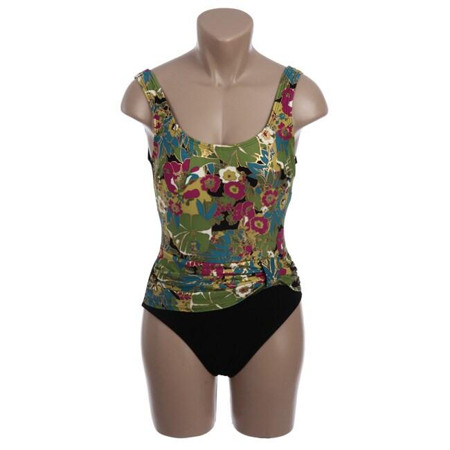 Shore Shapes Women's Floral Swimsuit