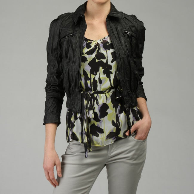 Body Policy Women's Cropped Zip-front Jacket