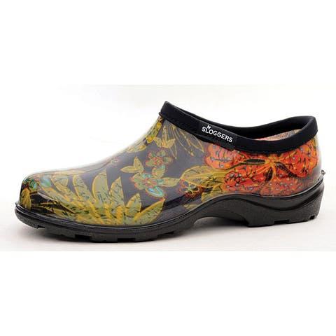 Sloggers Women's 'Midsummer' Black Garden Shoes (Size 9)