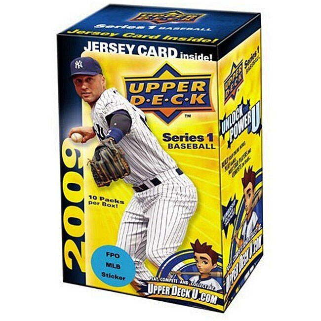 2009 Upper Deck Series 1 Baseball Trading Card Blaster Boxes Set Of 5