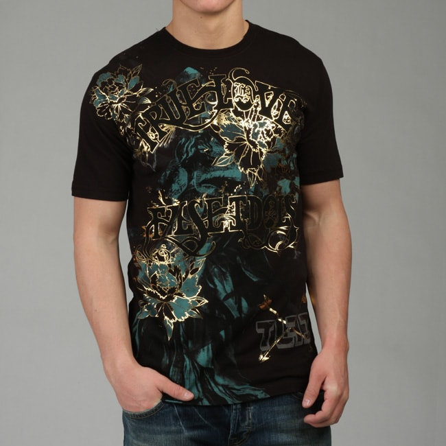True Love False Idols Men's 'King is Dead' T-shirt