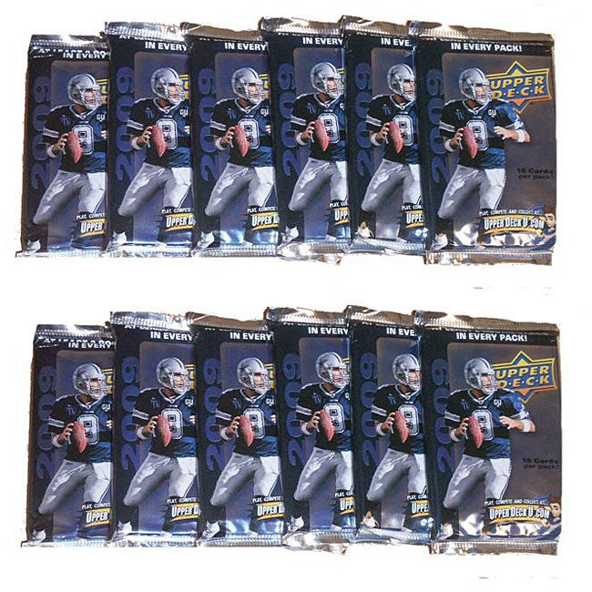NFL Upper Deck 2009 12-pack Trading Cards