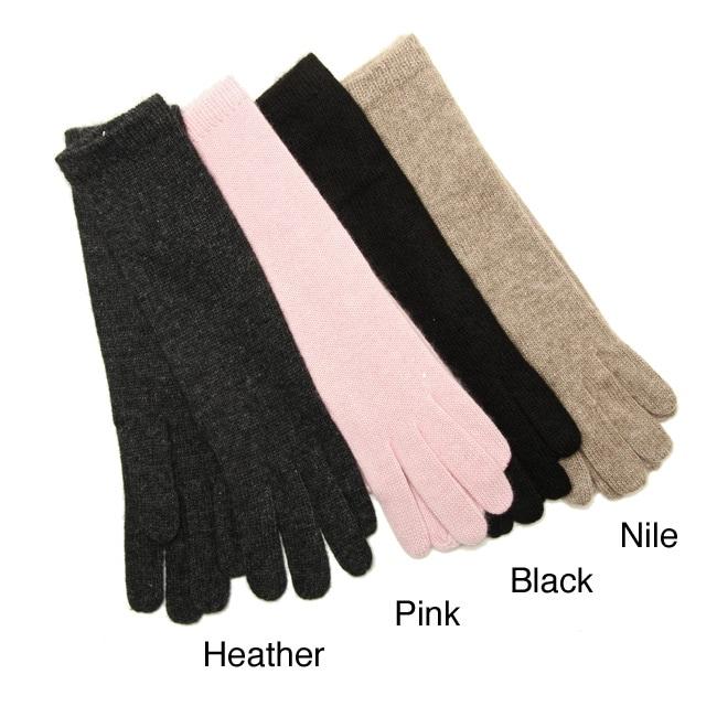 Portolano 10-inch Cashmere Gloves