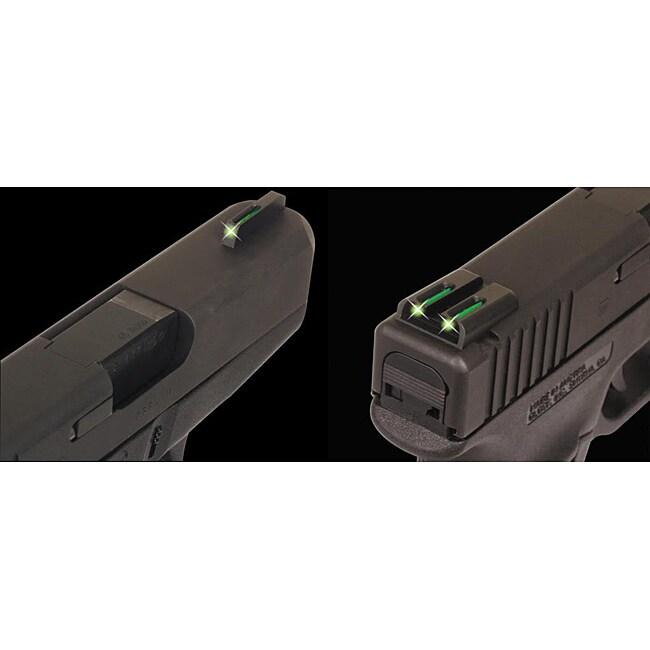 Truglo Brite-Site Glock Pistol Tritium/ Fiber Optic Sights